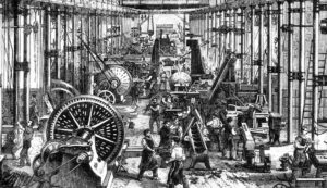 The First Industrial Revolution History and Background